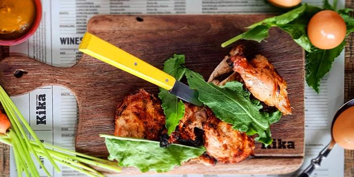Whole Baby Chicken from Kika Kitchen & Bar at 14 Convent Rd, Silom, Bang Rak, Bangkok