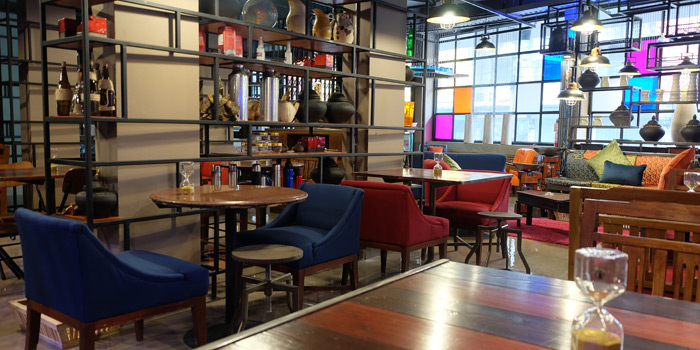 Ambience of Fork & Cork Bar & Restaurant at W22 Hotel 422 Mittraphan Rd., Pomprap, Pomprapsattruphai Bangkok