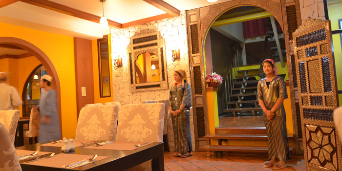 Ambience of Arabesque Restaurant at 68/1 Sukhumvit Soi 2 Sukhumvit Rd, Klongtoey Bangkok