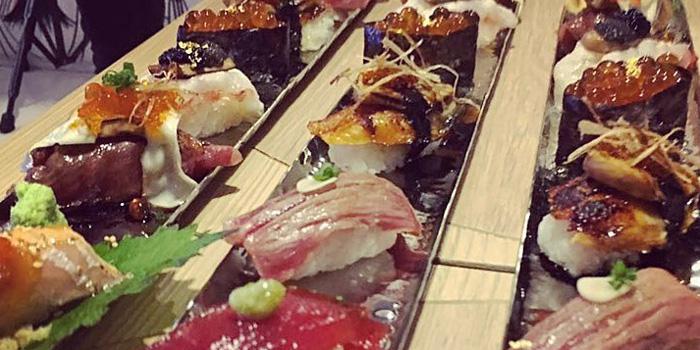 Mixed Sushi from Fatboy Sushi at 35/7 Soi Yommarad Saladeang,Silom Bangkok