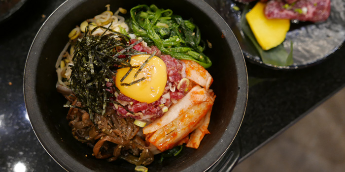 Bibimbap from Sankyu Takatown at 555/7 Project Takatown soi 39, Petchburiburi Rd Klongtonnua, Wattana Bangkok