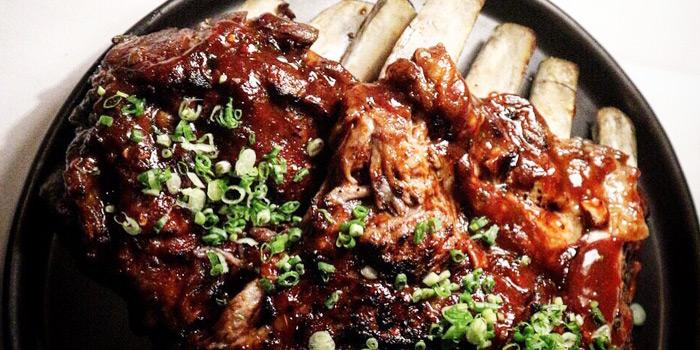 BBQ Pork Ribs from THAAN Charcoal Cooking at68/6 Soi Sukhumvit 31 Yaek 4 Sukhumvit Road Khlong Tan Nuea, Watthana Bangkok