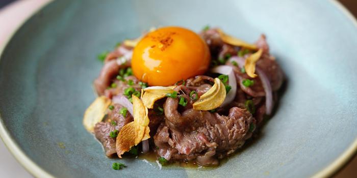 Beef Tataki from THAAN Charcoal Cooking at68/6 Soi Sukhumvit 31 Yaek 4 Sukhumvit Road Khlong Tan Nuea, Watthana Bangkok