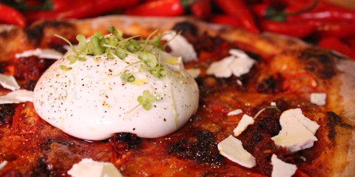 Burata Duja Pizza from Lola by Cocotte at 39 Ekkamai Alley soi 12 Khlong Tan Nua, Wattana Bangkok