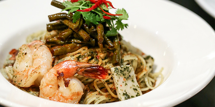 Laksa Pesto Spaghettini with Prawns from PS.Cafe Paragon at The Paragon in Orchard, Singapore