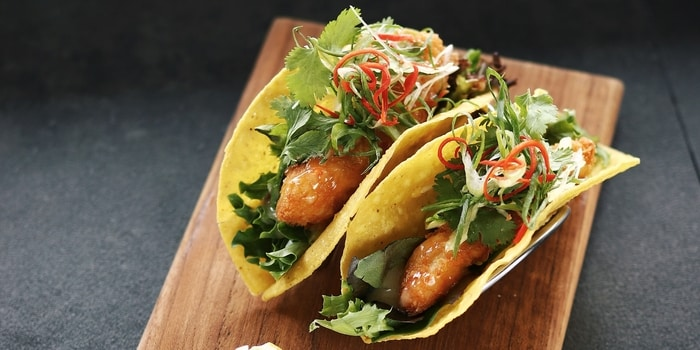 Fish Tacos at HOURS Coffee - BBQ - Event Space