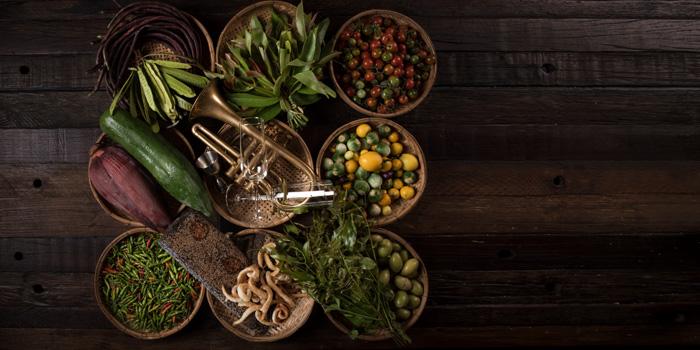 Fresh Ingredient from Funky Lam Kitchen at TASTE Thonglor Soi 11 Sukhumvit 55, Wattana Bangkok