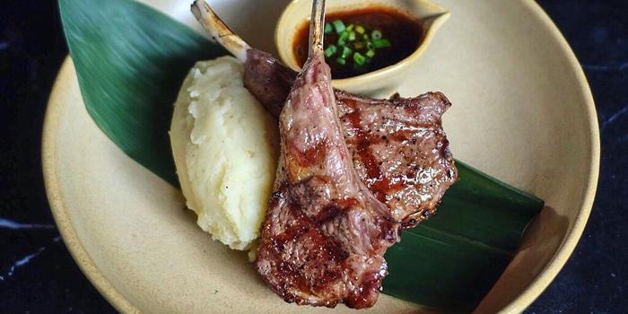 Grilled Lamb Rack from Salt at 111/2 Soi paholyothin 7 Paholyothin Rd Kwang samsennai, Khet Phayathai Bangkok