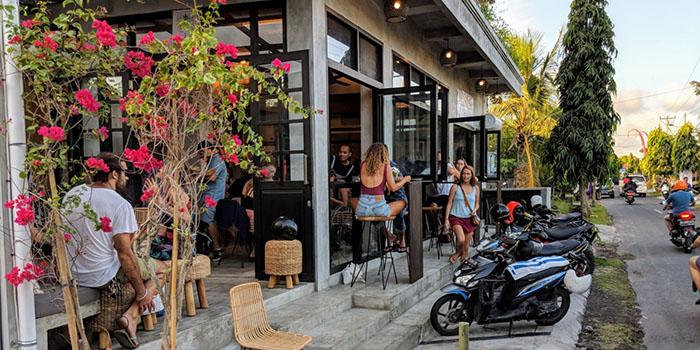 Exterior from Pescado Bali at Canggu, Bali