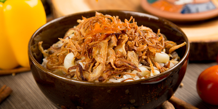Kusheri from Arabesque Restaurant at 68/1 Sukhumvit Soi 2 Sukhumvit Rd, Klongtoey Bangkok
