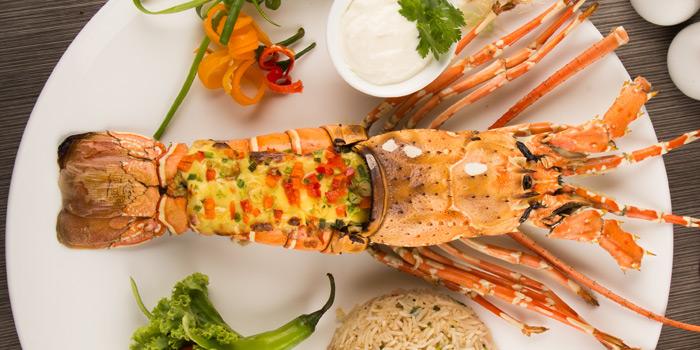 Lobster from Arabesque Restaurant at 68/1 Sukhumvit Soi 2 Sukhumvit Rd, Klongtoey Bangkok
