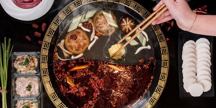 Hotpot Soup at Shu Guo Yin Xiang, Mangga Besar