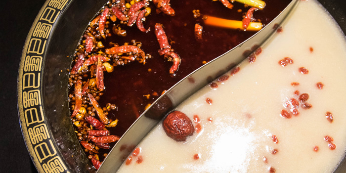 Hotpot Soup 2 at Shu Guo Yin Xiang, Mangga Besar