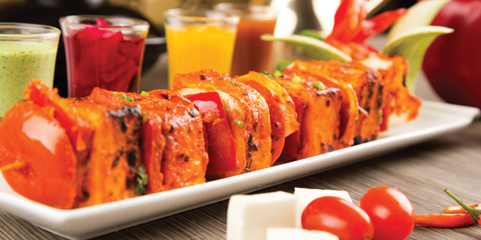 Paneer Tikka from Arabesque Restaurant at 68/1 Sukhumvit Soi 2 Sukhumvit Rd, Klongtoey Bangkok