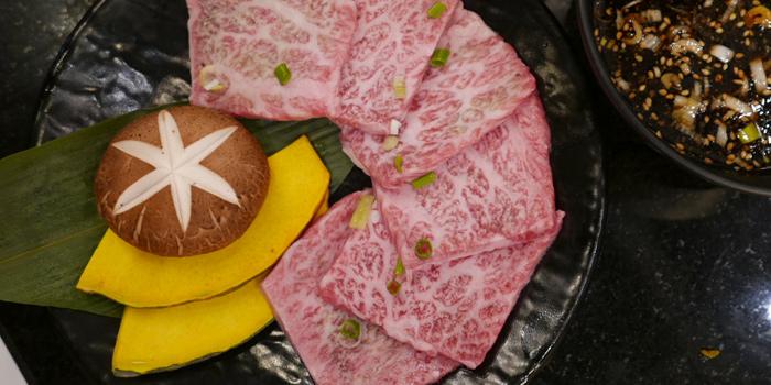 Premium Beef Slice from Sankyu Takatown at 555/7 Project Takatown soi 39, Petchburiburi Rd Klongtonnua, Wattana Bangkok
