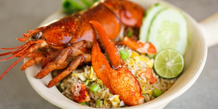 River Prawn Fried Rice from Party House One at Siam@Siam Design Hotel Bangkok 865 Rama 1 Road Wang Mai, Patumwan Bangkok