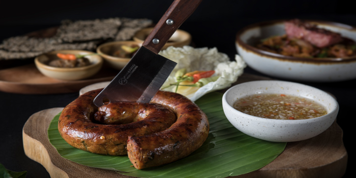 Sai Oua from Funky Lam Kitchen at TASTE Thonglor Soi 11 Sukhumvit 55, Wattana Bangkok