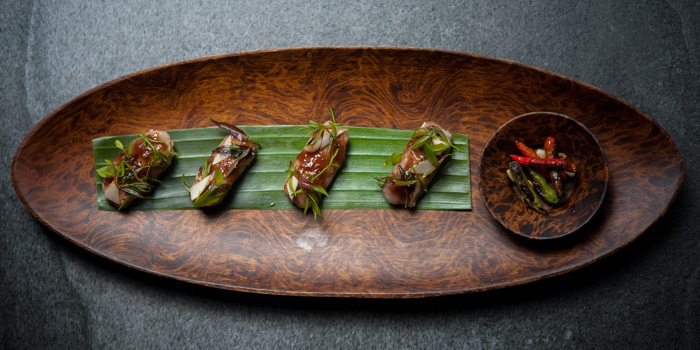 Signature Dish from TAAN at Siam@Siam Design Hotel Bangkok 865 Rama 1 Road Wang Mai, Patumwan Bangkok