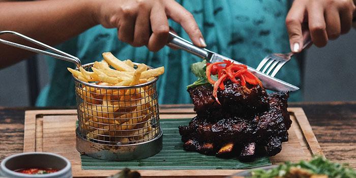 Food from Bo & Bun, Seminyak, Bali