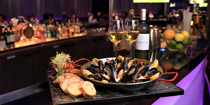 All You Can Eat Mussels, Room One – Sports Bar, Tsim Sha Tsui, Hong Kong