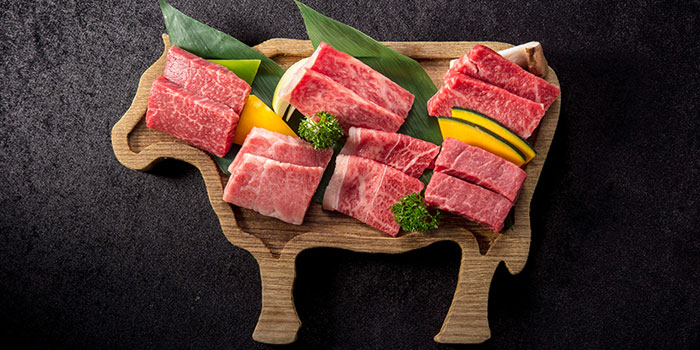 Assorted Miral Beef Rare Parts Yakiniku Platter, Yakiniku KAGURA, Tsim Sha Tsui, Hong Kong
