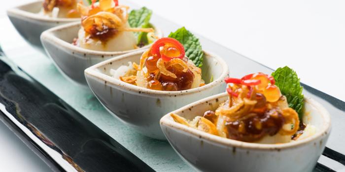 Assortment from Patara fine Thai cuisine at 375 Thonglor Soi19 Sukhumvit Soi55 Khlong Tan Nuea Bangkok