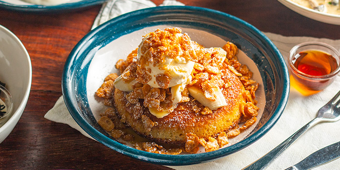 Butterscotch Banana Pancake from Atlas Coffeehouse in Bukit Timah, Singapore