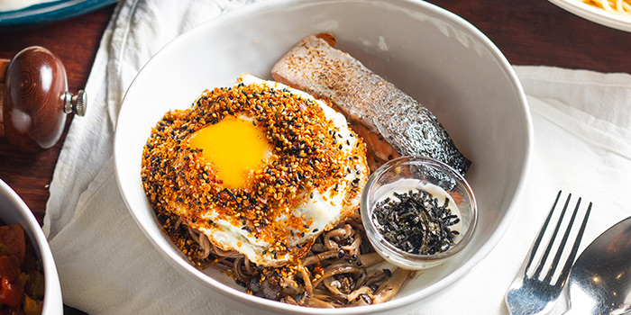 Salmon Soba from Atlas Coffeehouse in Bukit Timah, Singapore