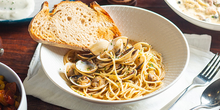 Spaghetti Vongole from Atlas Coffeehouse in Bukit Timah, Singapore
