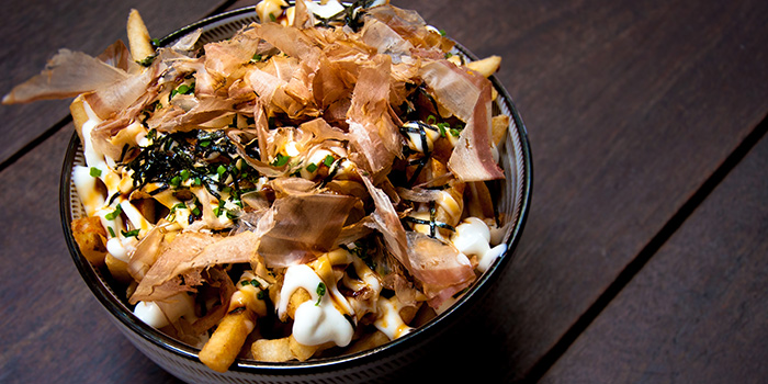Bonito Fries from 63Celsius (Asia Square) in Asia Square in Raffles Place, Singapore