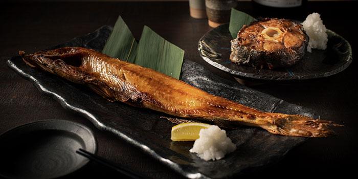 Bansuke Atka Mackerel & Dried Tuna Tail, UOHARU, Central, Hong Kong