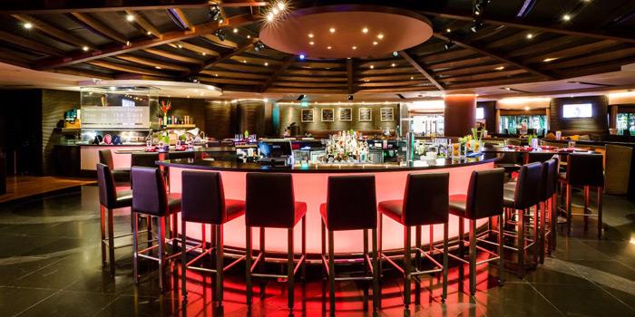 Bar Area from BarSu Cafe at Sheraton Grande Hotel, Bangkok