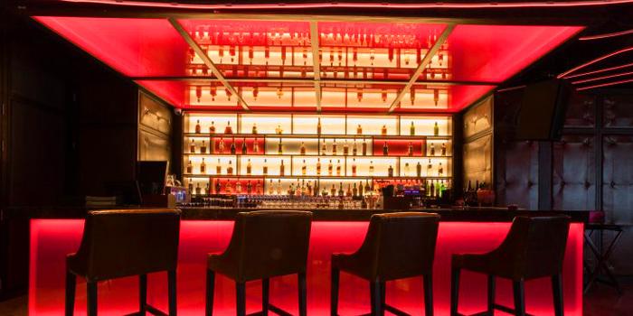 Bar Area of Koi Restaurant and Lounge at 39th floor, Sathorn Square Building 98 North Sathorn Road Silom, Bangrak Bangkok