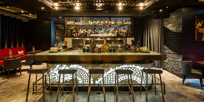 Bar Interior, Fang Fang, Central, Hong Kong