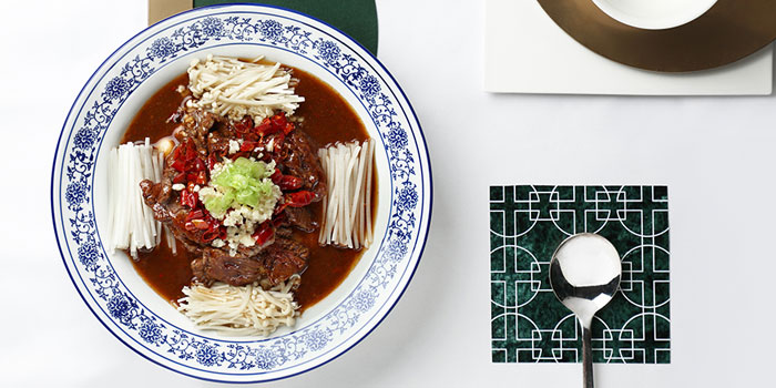 Boiled Beef with Vermicelli in Spicy Sauce, Cuisine Cuisine (Tsim Sha Tsui), Tsim Sha Tsui, Hong Kong