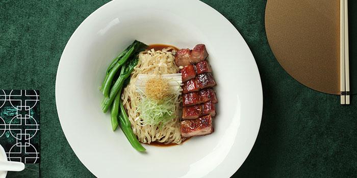 Braised Flat Noodles with Barbecued Pork, Cuisine Cuisine (Tsim Sha Tsui), Tsim Sha Tsui, Hong Kong