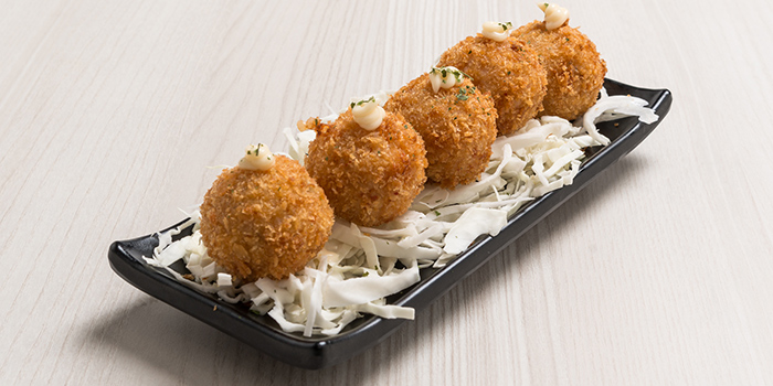 Breaded Rice Balls from Bonchon (Boat Quay) in Boat Quay, Singapore