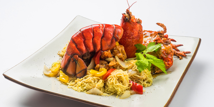 Canadian Lobster from Patara fine Thai cuisine at 375 Thonglor Soi19 Sukhumvit Soi55 Khlong Tan Nuea Bangkok