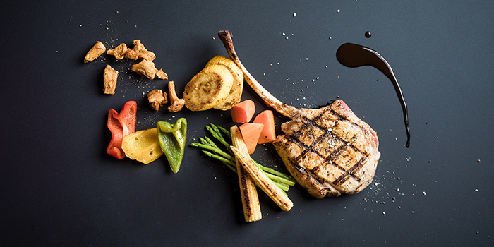 Chicken Steak from Spices Cafe in Concorde Hotel Singapore in Orchard, Singapore