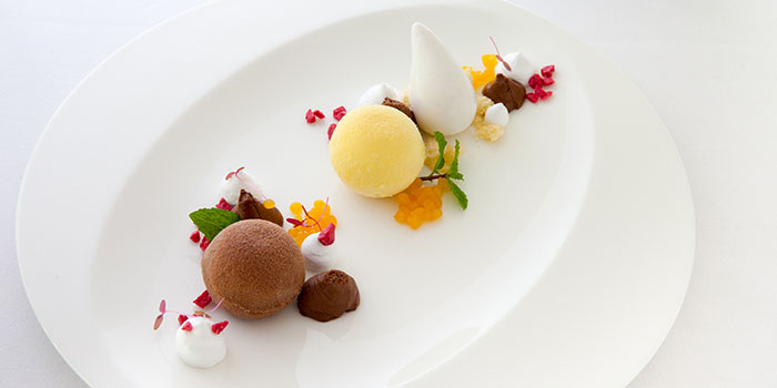 Chocolate Passion Fruit at Arwana Restaurant, Nusa Dua