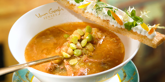 Classic Dutch Peas & Smoked Ham Soup, Van Gogh Senses, Tsim Sha Tsui, Hong Kong