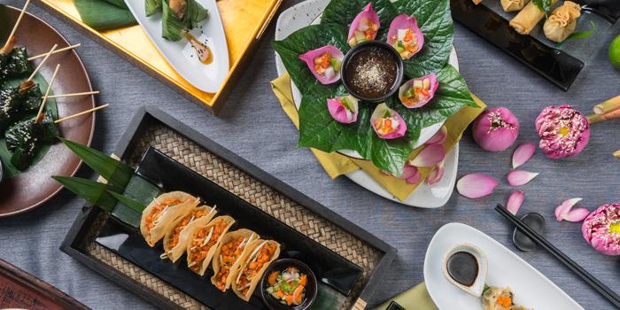 Selection of Food from Patara fine Thai cuisine at 375 Thonglor Soi19 Sukhumvit Soi55 Khlong Tan Nuea Bangkok