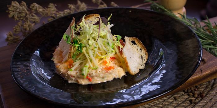Crab Cake from BarSu Cafe at Sheraton Grande Hotel, Bangkok