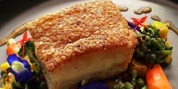 Crispy Pork Belly from Quaint Bangkok at 23 Soi Sukhumvit 61 Khlong Tan Nuea, Watthana Bangkok