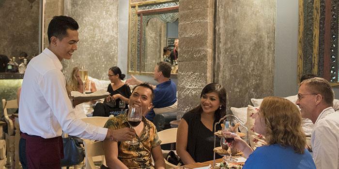 DIVINE Wine and Cocktail Bar from Bridges Bali, Ubud, Bali