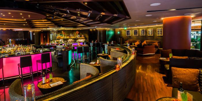 Dining Area of BarSu Cafe at Sheraton Grande Hotel, Bangkok
