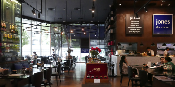 Dinning Area from Jones the Grocer The EmQuartier 693,695 Sukhumvit Road Klong Ton Nua, Wattana Bangkok
