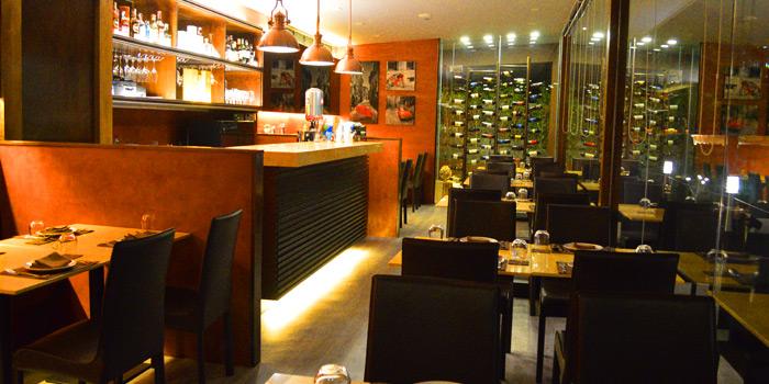 Dining Area of Brunello at 15 Soi Rama IX 58 Suanluang Bangkok