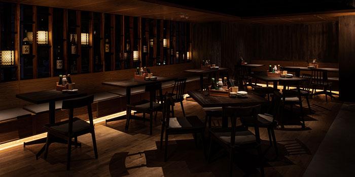 Dining Area, UOHARU, Central, Hong Kong