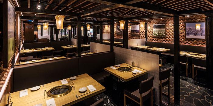 Dining Area, Yakiniku KAGURA, Tsim Sha Tsui, Hong Kong